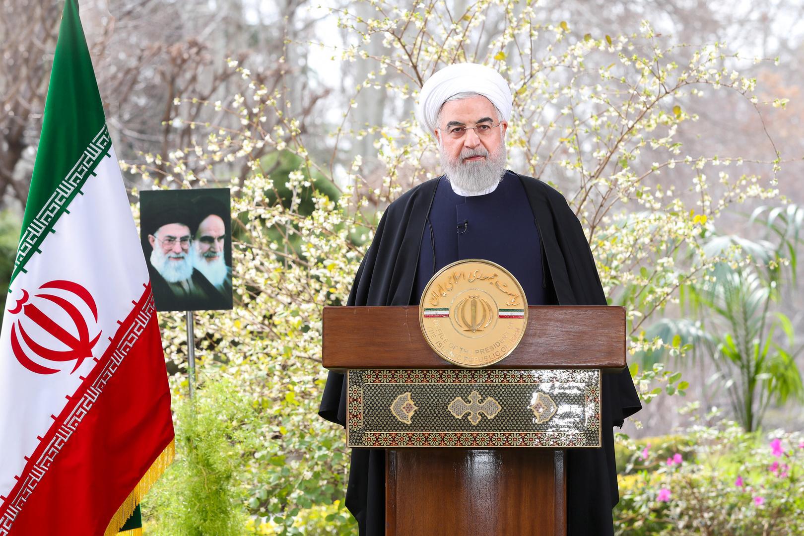روحاني يقيم وضع إيران بعد 100 يوم من تفشي كورونا في البلاد