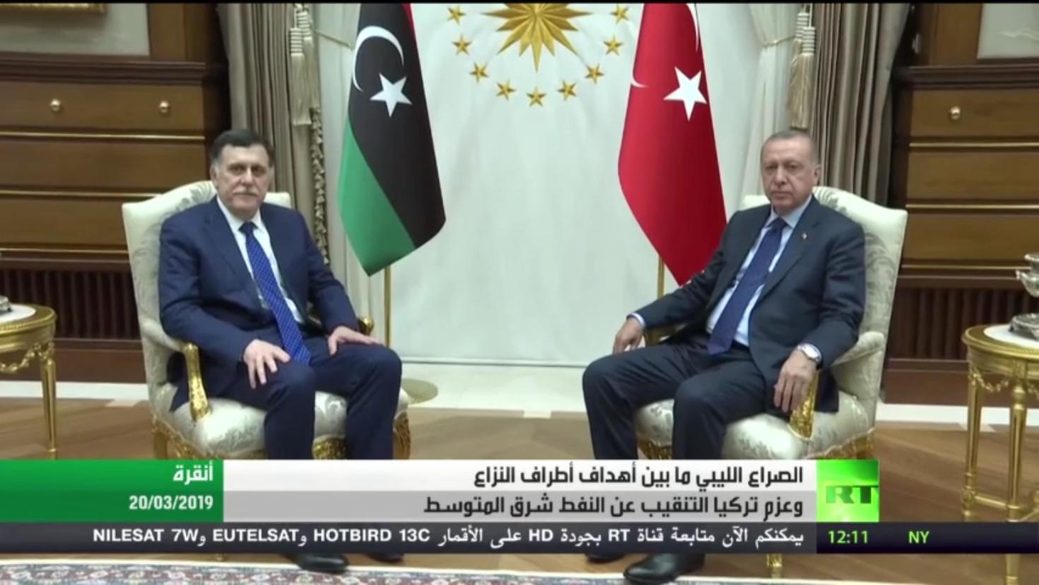 أزمة ليبيا وعزم تركيا استخراج نفط المتوسط