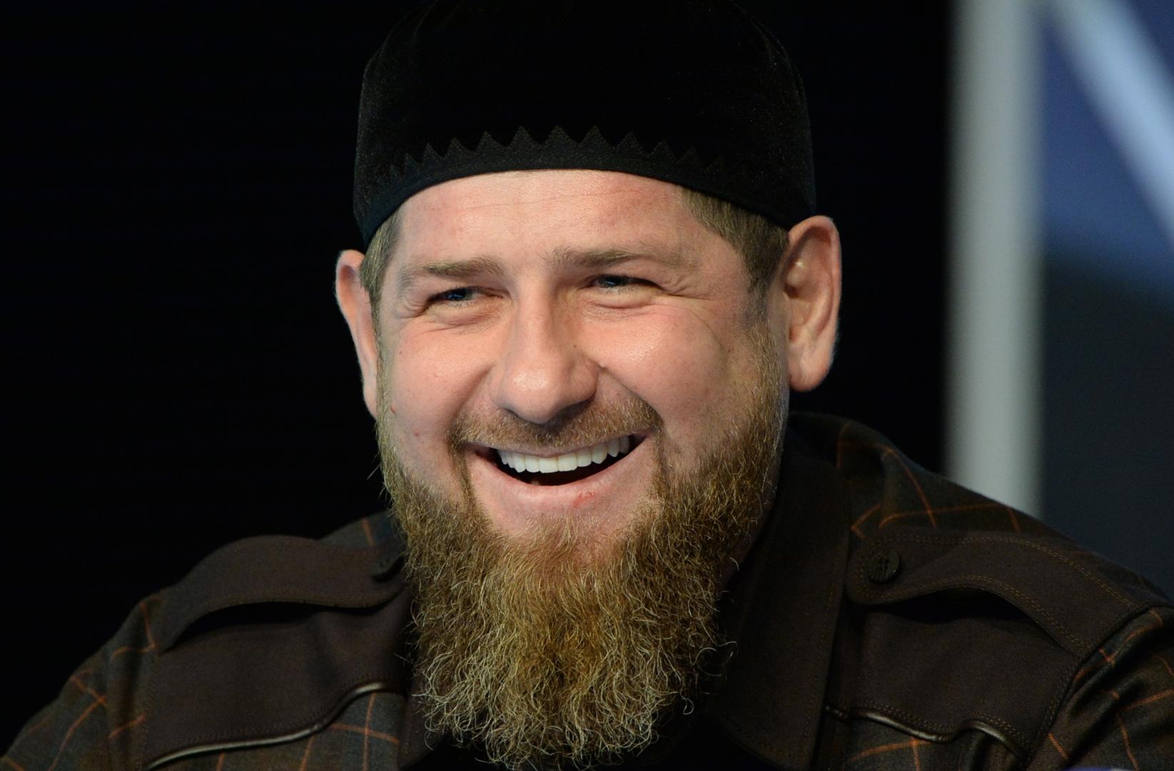 رئيس جمهورية الشيشان الروسية، رمضان قديروف.