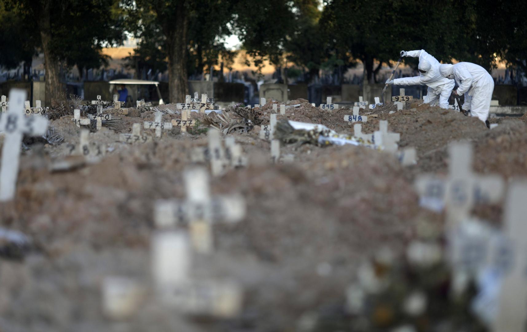 إصابات كورونا في البرازيل تتجاوز نصف مليون حالة مع تسجيل 480 وفاة جديدة