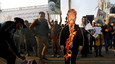 """أنصار جركة """"عصائب أهل الحق"""" في بغداد"""