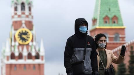 انخفاض حصيلة الوفيات اليومية بفيروس كورونا في موسكو