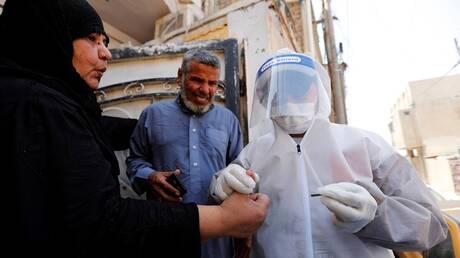 العراق يسجل 163 إصابة وثلاث وفيات بفيروس كورونا
