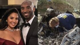 زوجة نجم كرة السلة الراحل تلجأ للقضاء بسبب صور موقع الحادث