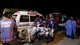 ارتفاع حصيلة قتلى الطائرة الباكستانية المنكوبة إلى 97 ونجاة اثنين