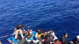 ليبيا: منع مئات المهاجرين من الوصول إلى أوروبا بحرا