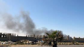 ليبيا.. تواصل حرب الطائرات المسيرة  والقتال في اتجاه ترهونة