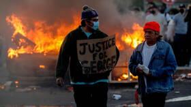 الاحتجاجات الأمريكية.. نشر الحرس الوطني في واشنطن و11 ولاية وحظر التجوال في 25 مدينة