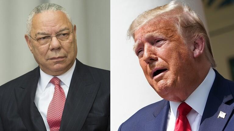 Trump reminds Colin Powell of the Iraq war 5edd0bea423604497e17285c