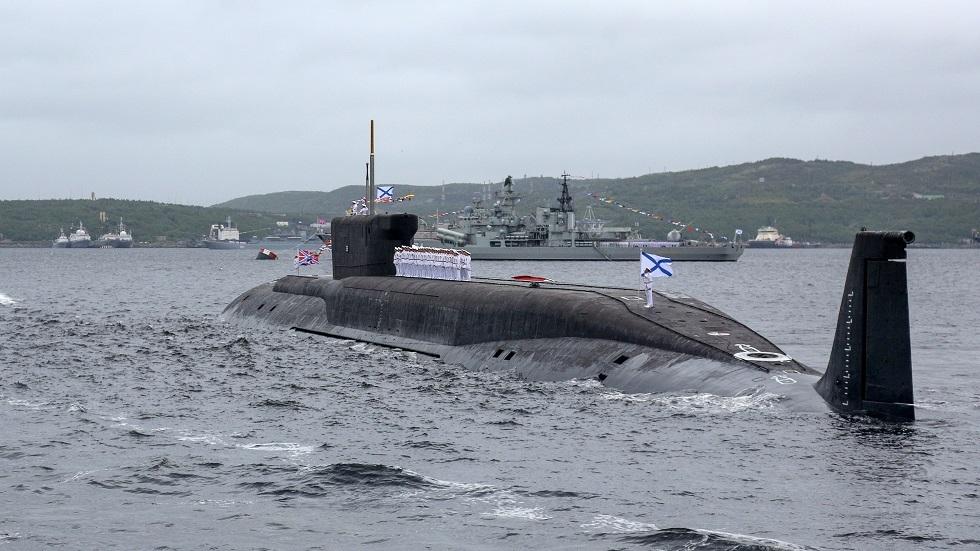 غواصة نووية مطورة تعود للخدمة في الأسطول الروسي قريبا