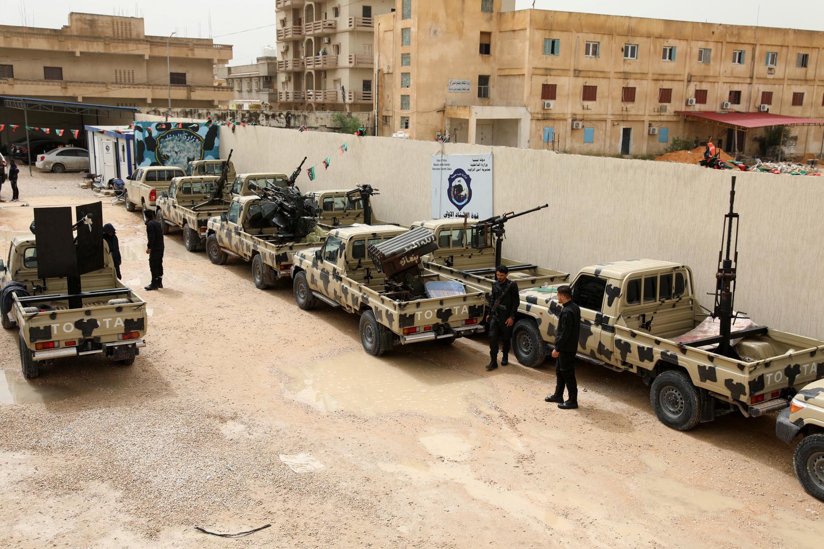 قوات حكومة الوفاق - أرشيف