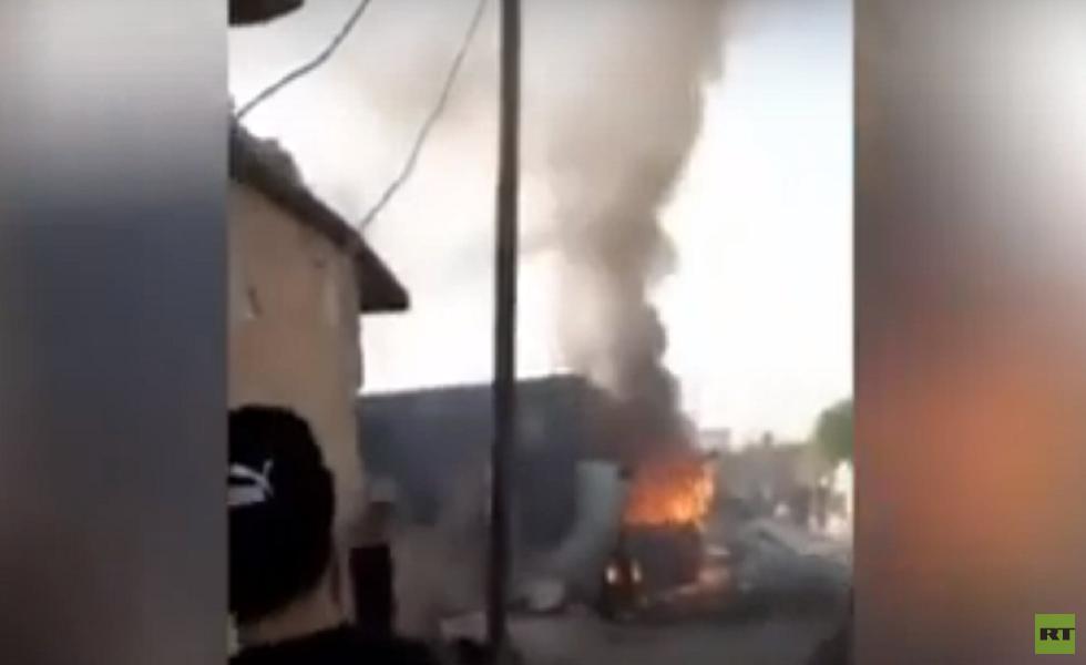 قتلى وجرحى بانفجار سيارة مفخخة في سوريا (فيديو)