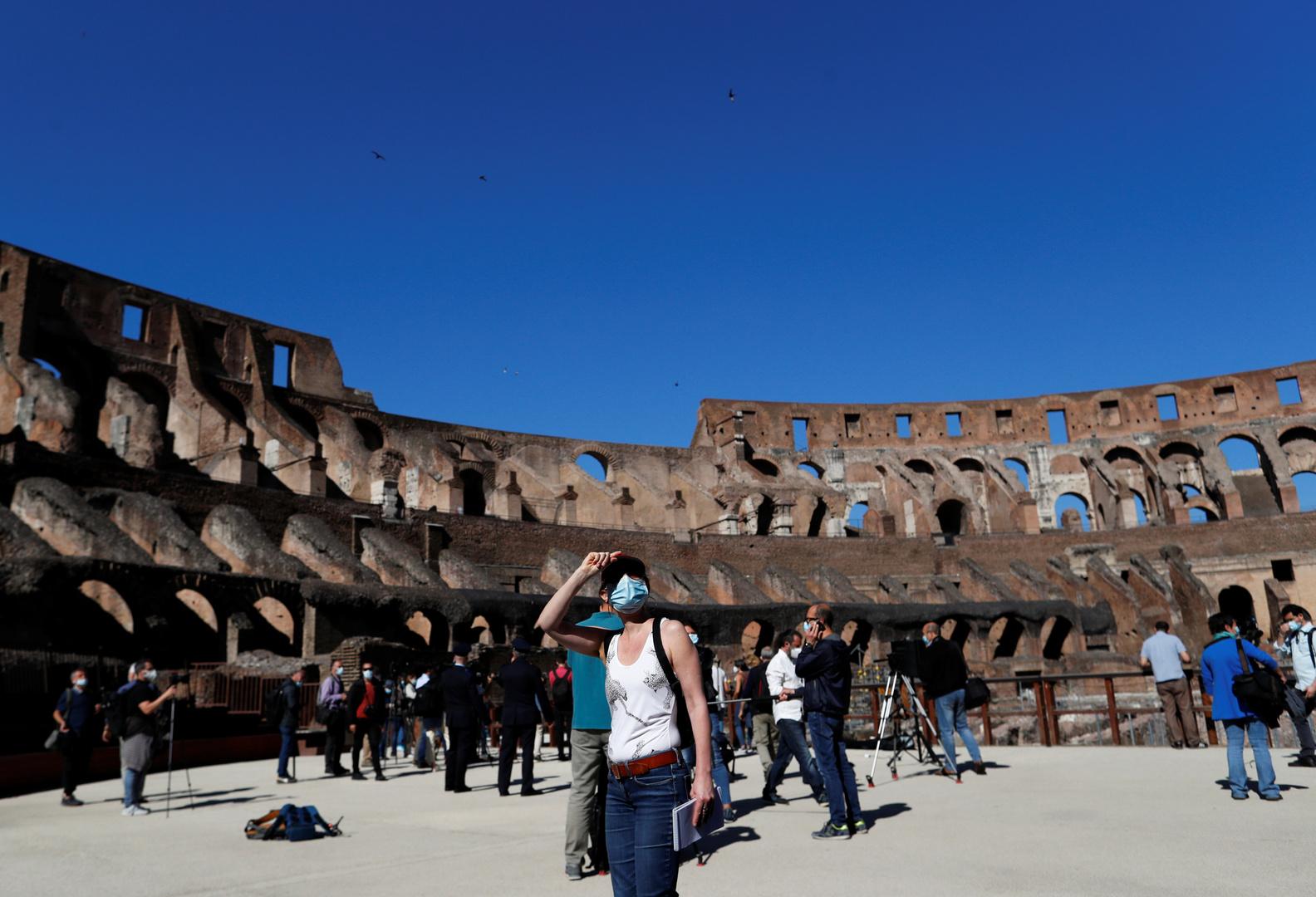 إيطاليا تسجل تراجعا جديدا للوفيات بفيروس كورونا