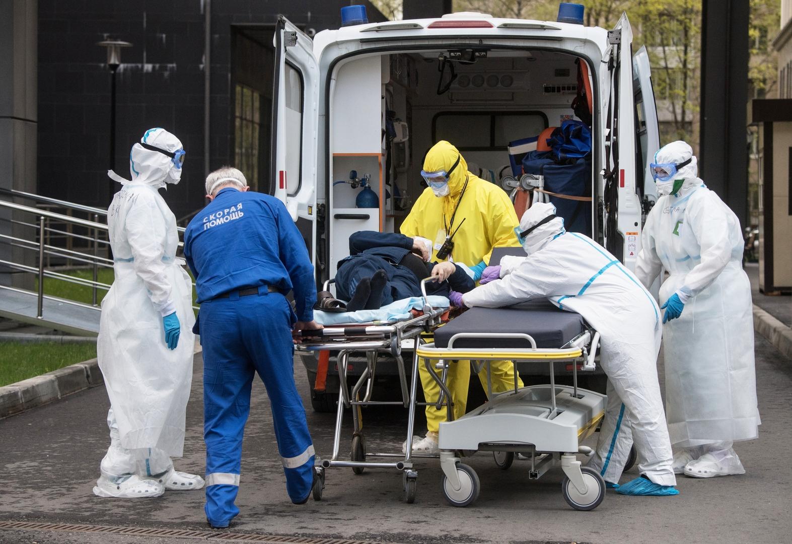 وفاة 71 مصابا بفيروس كورونا في موسكو