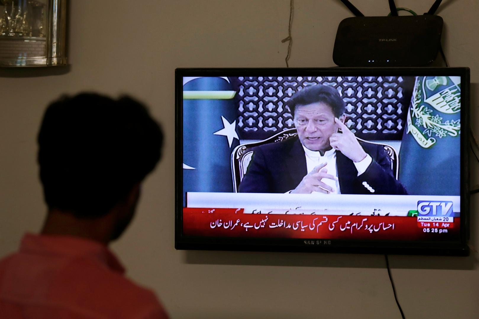 رئيس وزراء باكستان يدعو المواطنين