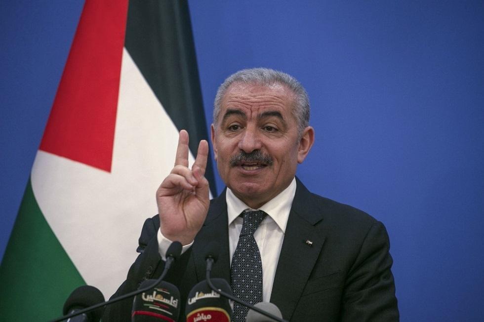 اشتيه يدعو إلى منع إسرائيل من تنفيذ خطط ضم أراضي الضفة الغربية