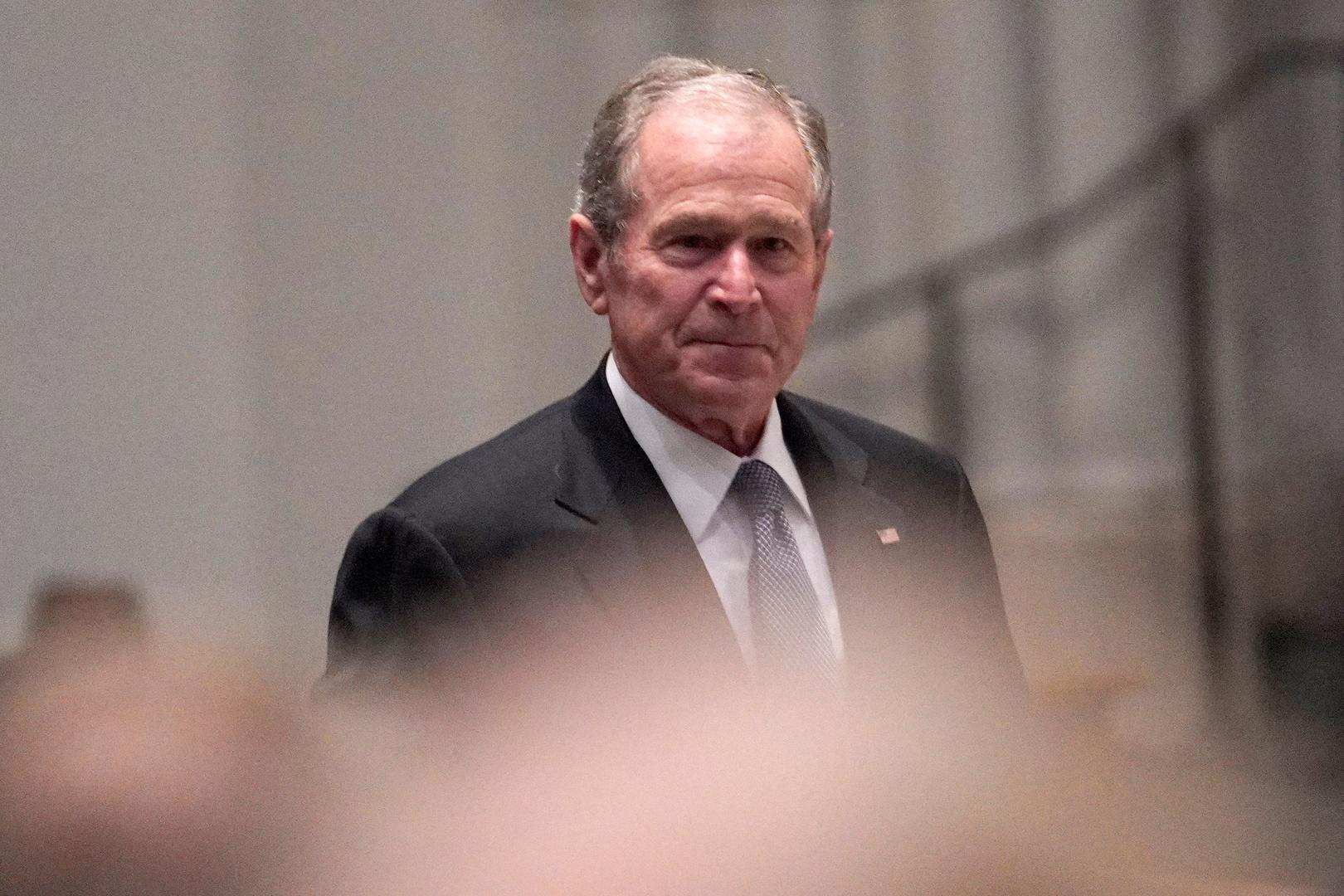 الرئيس الأمريكي الأسبق، جورج بوش الابن.