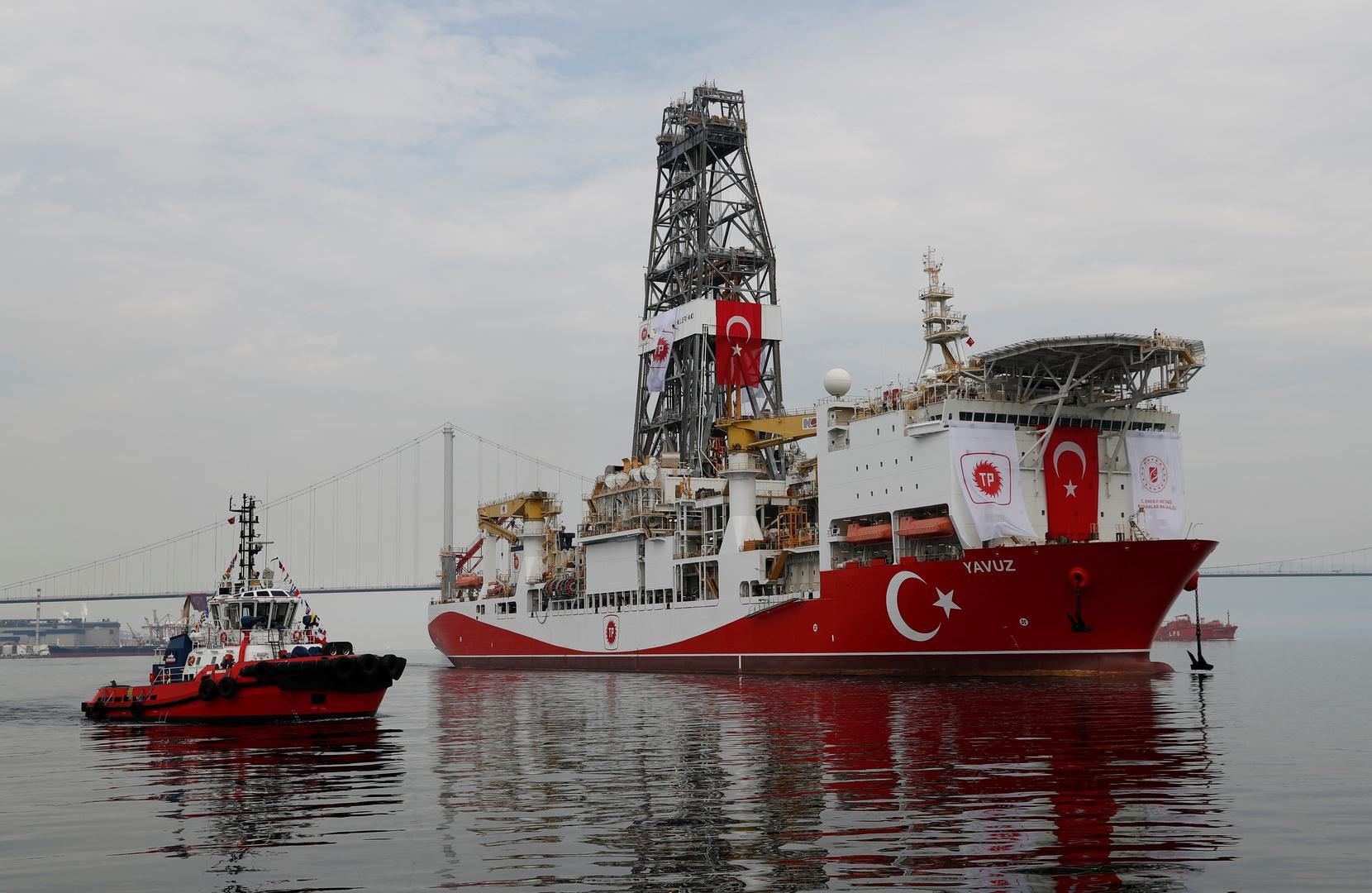 تركيا تنشر خريطة