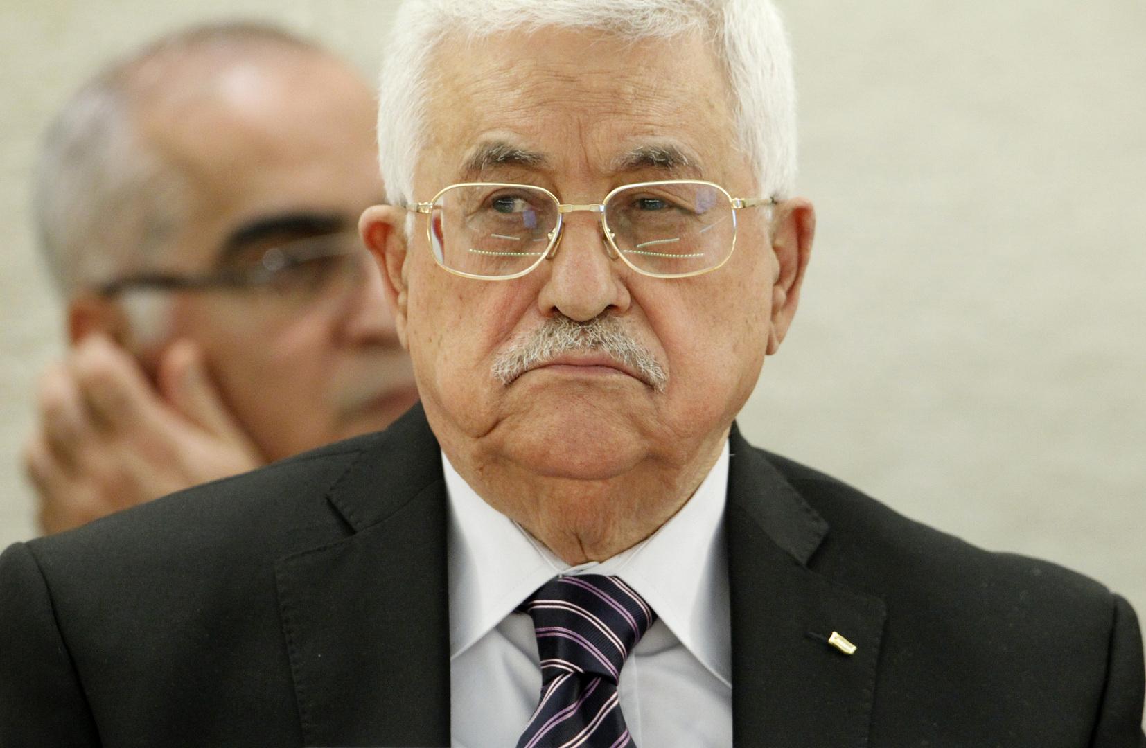 الرئيس الفلسطيني يمدد حالة الطوارئ شهرا آخر