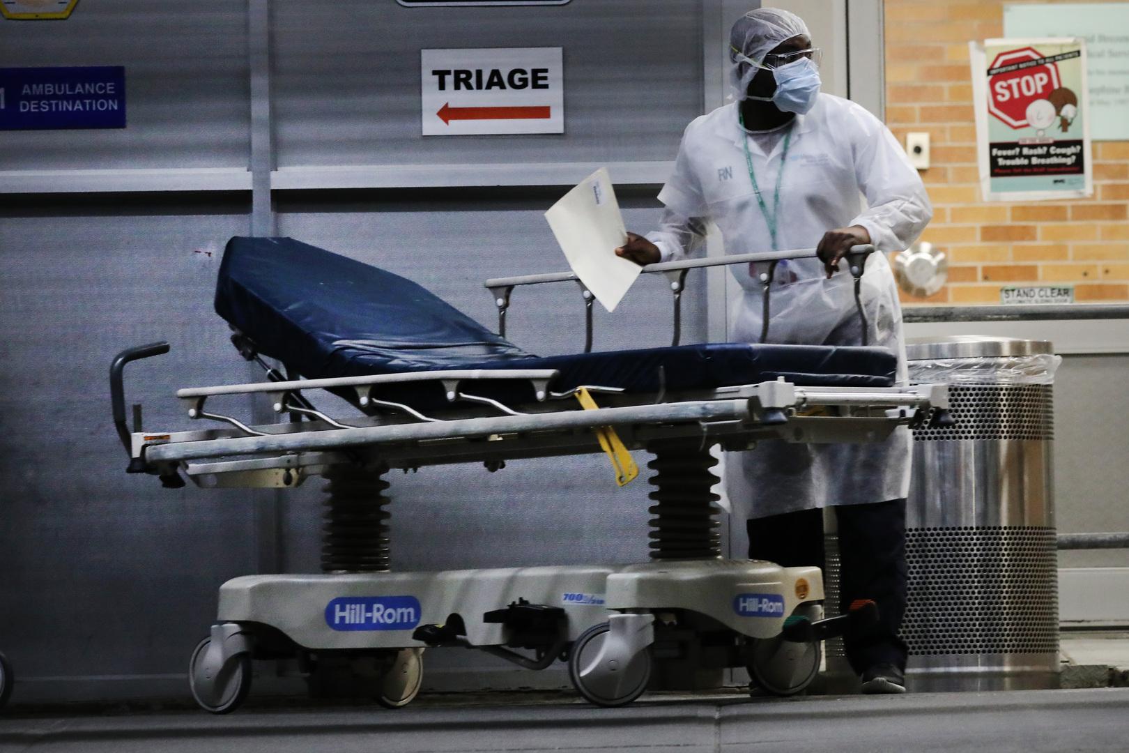 مراكز الوقاية الأمريكية: نحو 25 ألف إصابة جديدة بكورونا في البلاد