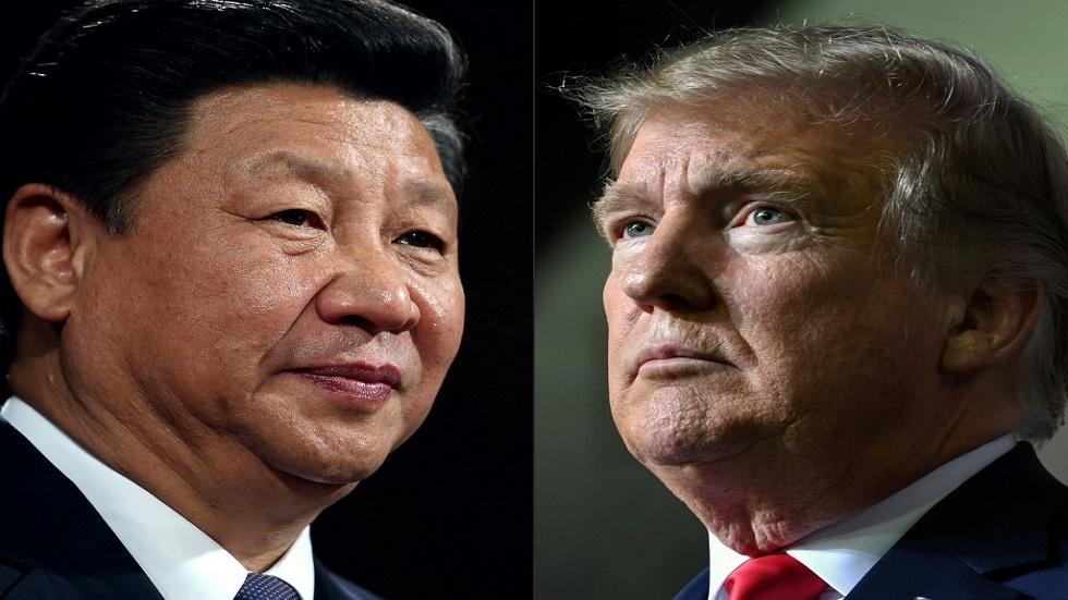 الرئيسان الأمريكي دونالد ترامب والصيني شي جين بينغ