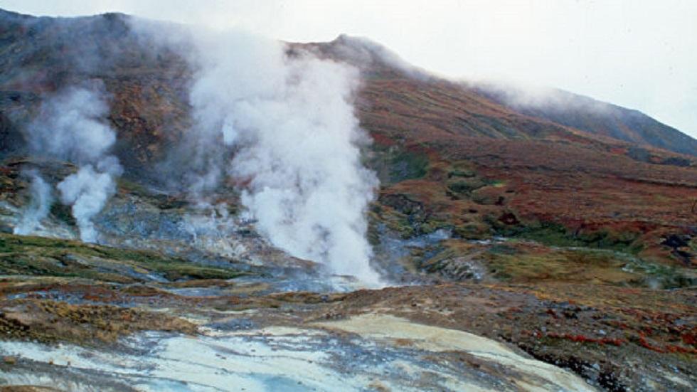وادي السخانات في كامتشاتكا