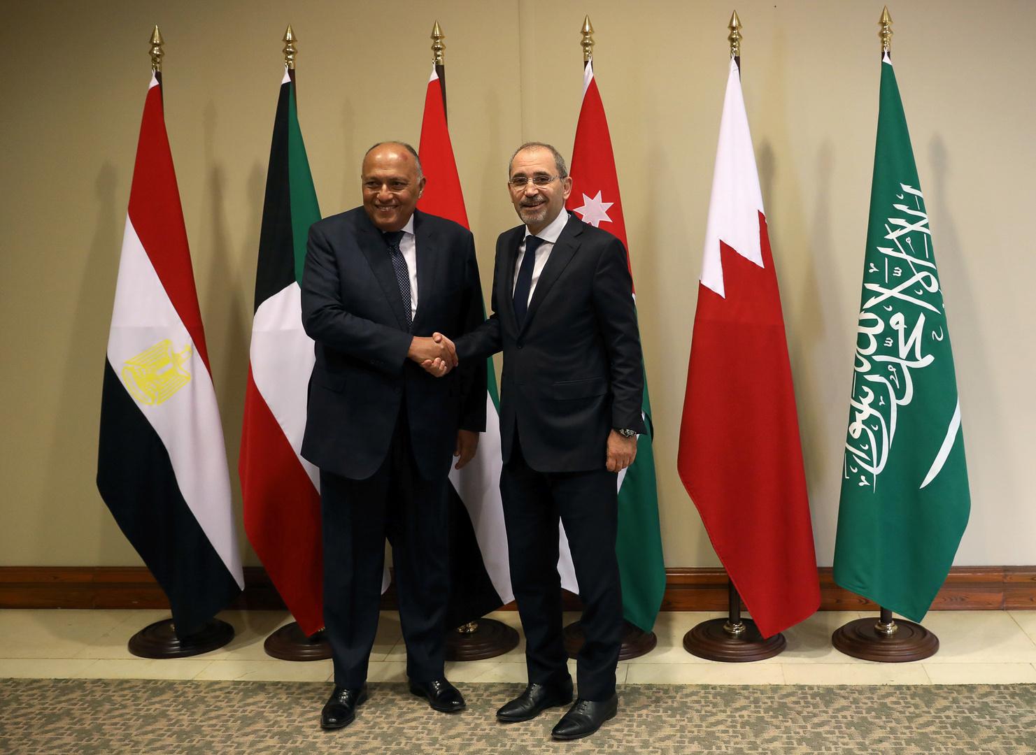 مصر والأردن تحذران من أي خطوات أحادية لضم أجزاء من الضفة الغربية