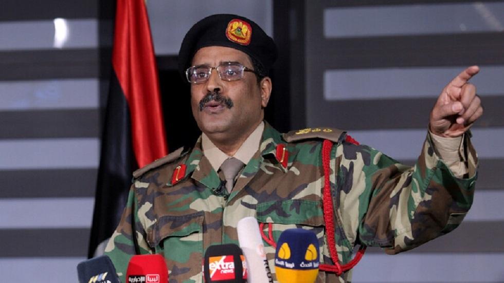 """الناطق باسم لقيادة العامة """"للجيش الليبي"""" اللواء أحمد المسماري"""