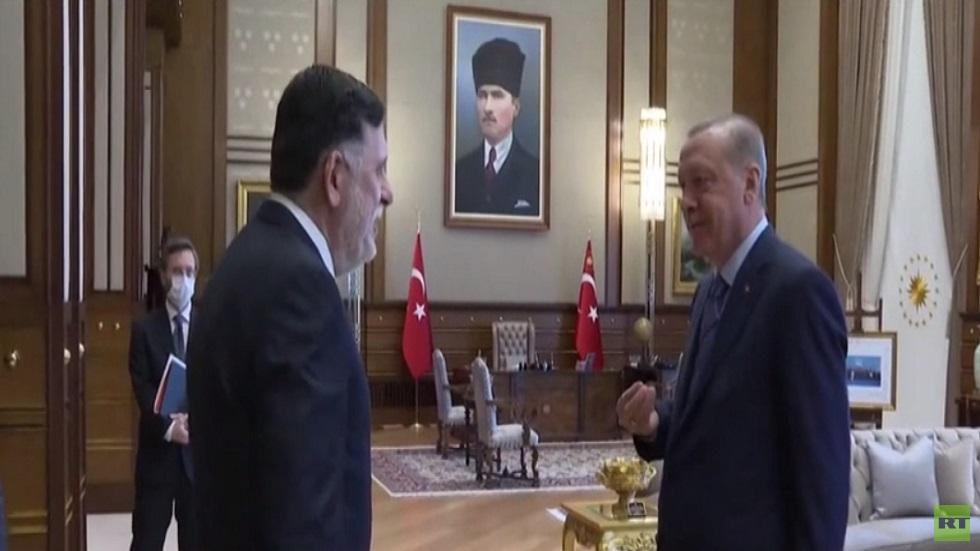 أردوغان يتعهد بتعزيز دعم حكومة الوفاق