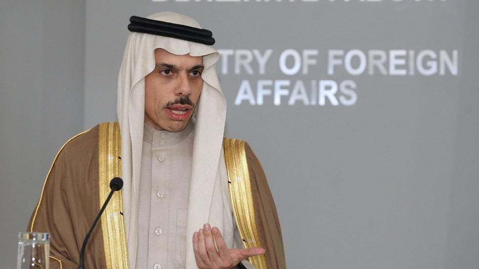 وزير الخارجية السعودي الأمير فيصل بن فرحان بن عبدالله