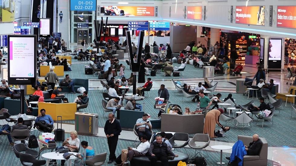 مطار دبي في الإمارات - أرشيف
