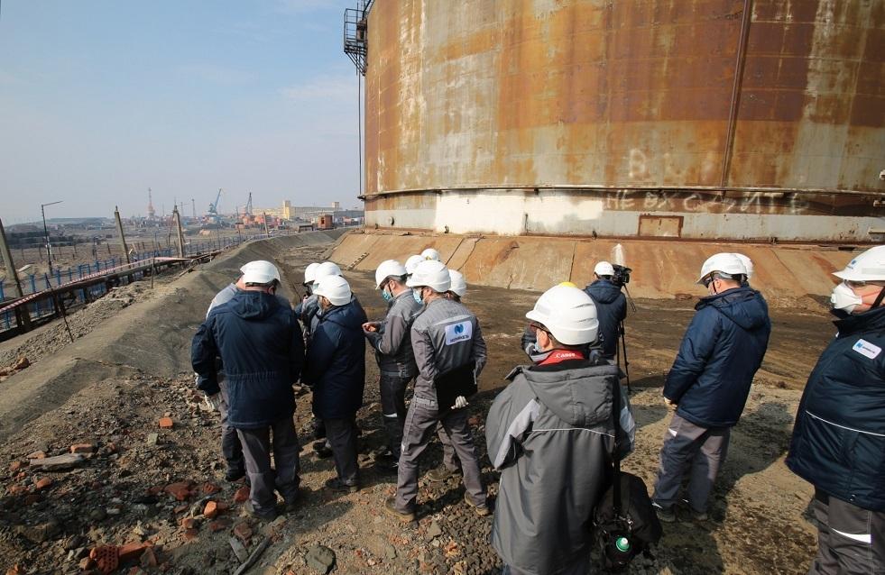 روسيا: تطويق مكان تسرب وقود الديزل بعد حادث في محطة لتوليد الكهرباء الحرارية
