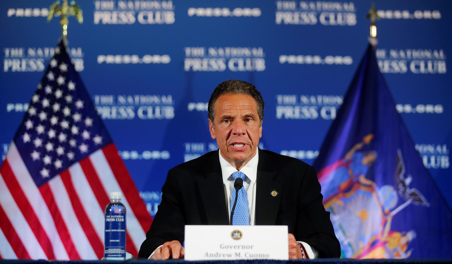 حاكم نيويورك: وفيات كورونا في الولاية بلغت أدنى مستوياتها منذ بدء تفشيه