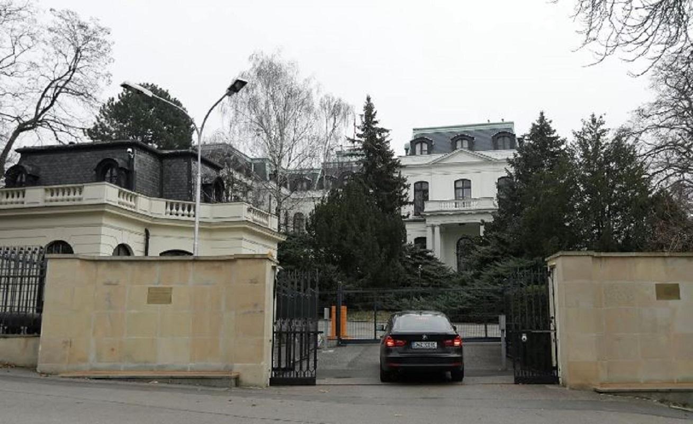 السفارة الروسية في براغ