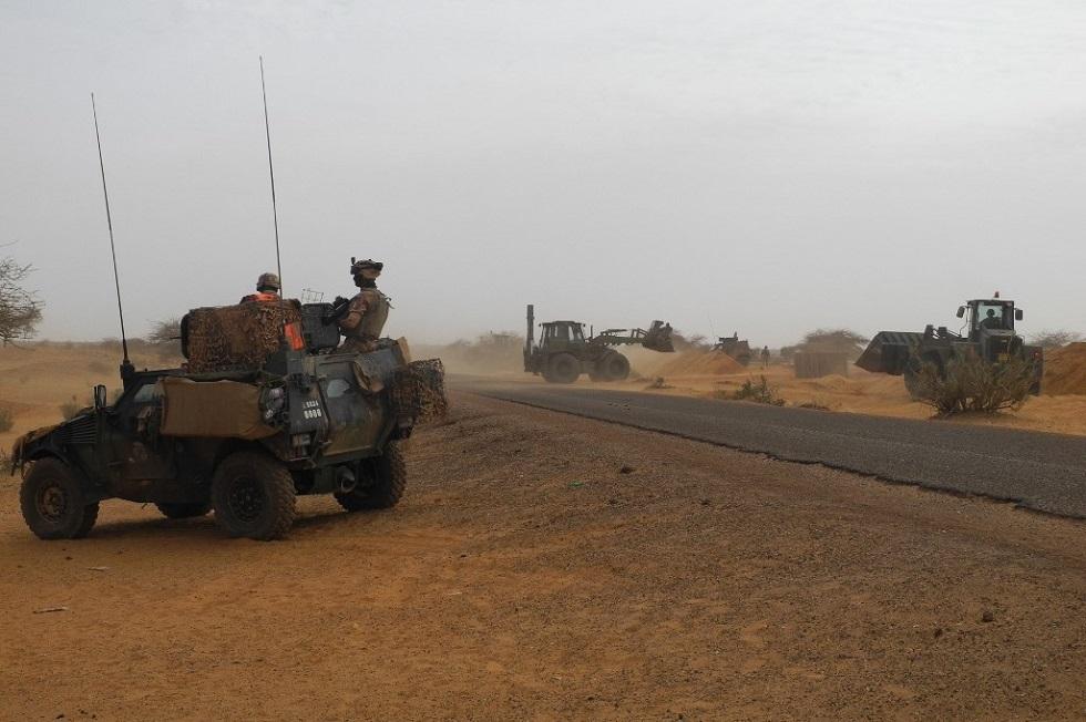 آليات عسكرية في شمال مالي