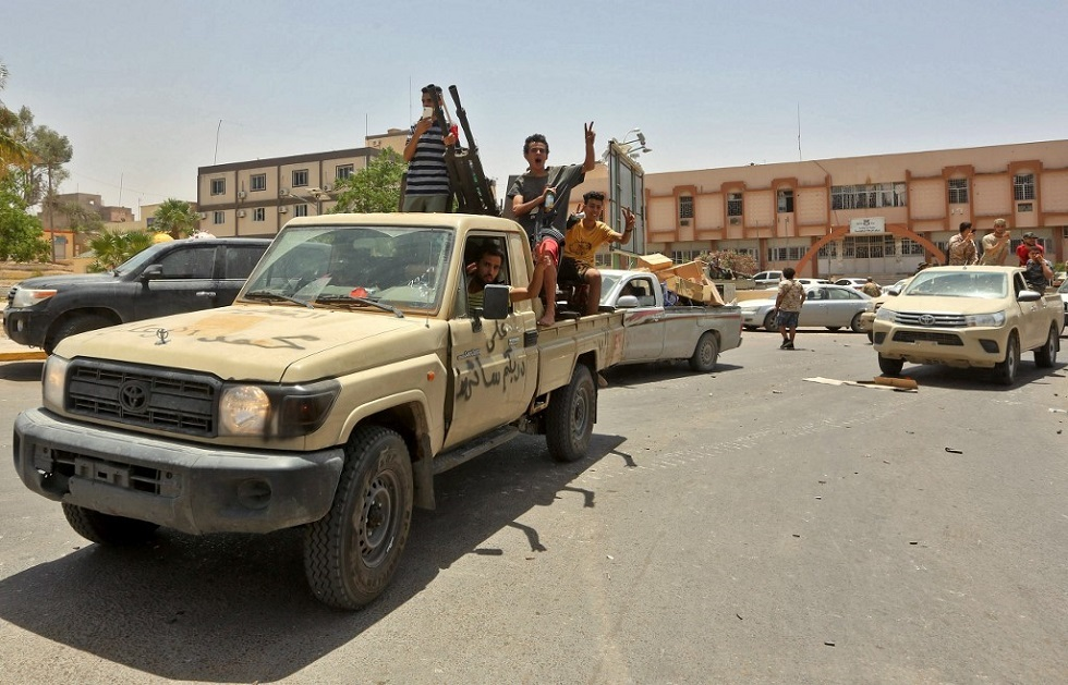 قوات تابعة لحكومة الوفاق الليبية