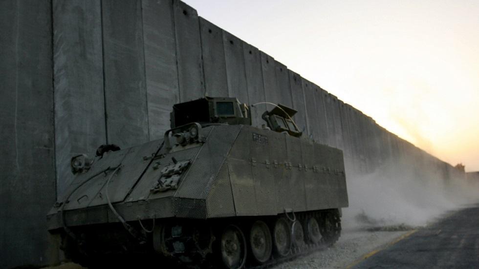 الجدار الإسرائيلي العازل مع قطاع غزة - أرشيف