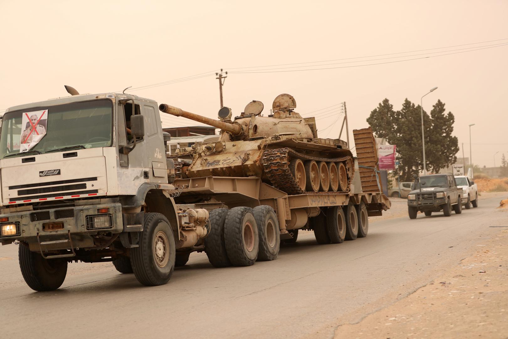 ليبيا.. حكومة الوفاق تطلق عملية للسيطرة على سرت وتوجه