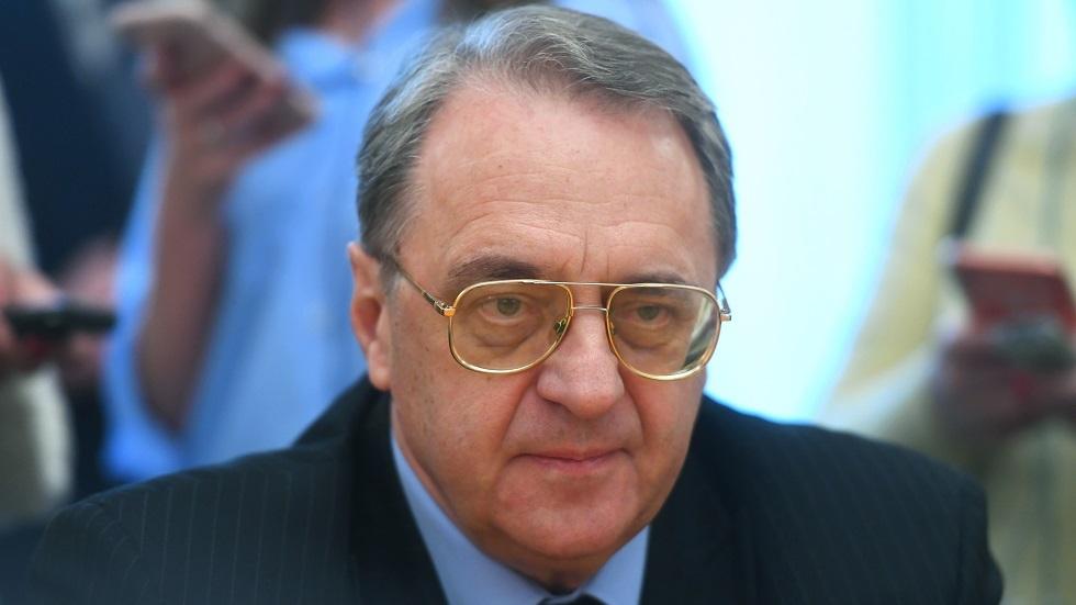 المبعوث الخاص للرئيس الروسي إلى الشرق الأوسط ودول إفريقيا، نائب وزير الخارجية ميخائيل بوغدانوف