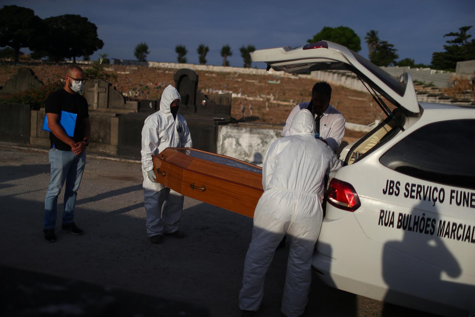 البرازيل.. 900 وفاة بكورونا خلال يوم والحكومة