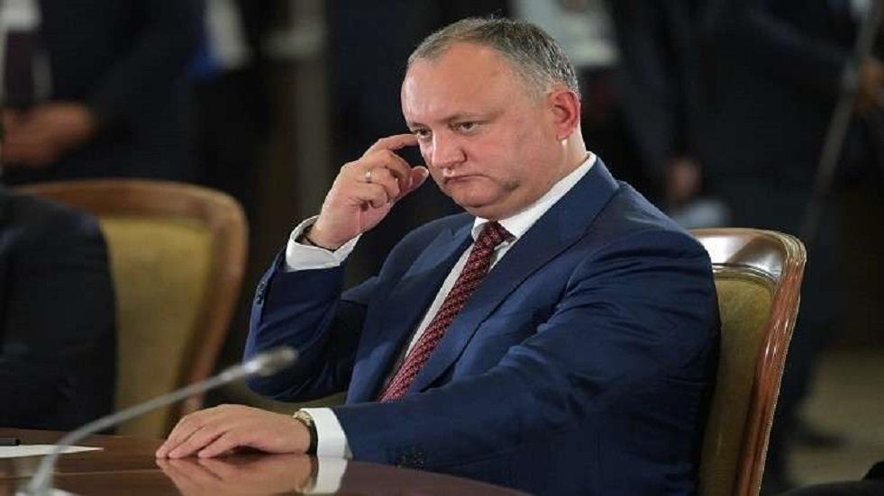 رئيس مولدوفا يتهم صديقا لبوروشينكو بمحاولة الاستيلاء على السلطة في البلاد