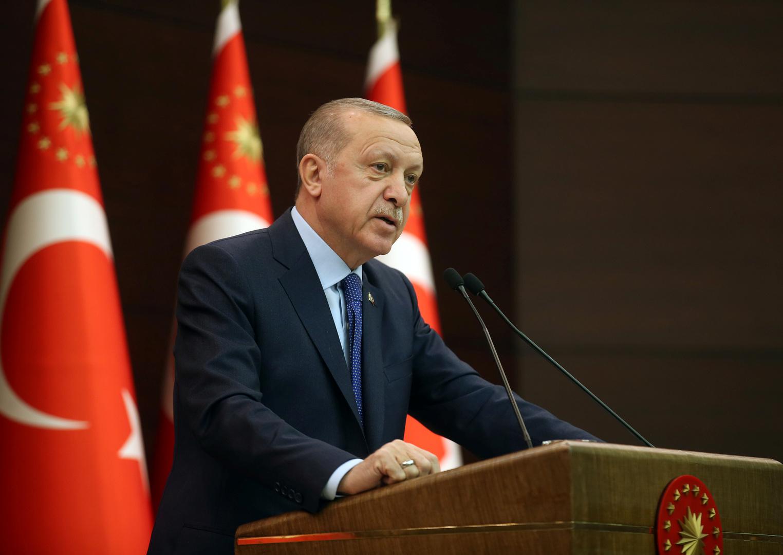 أردوغان لترامب: المشاغبون في أمريكا على صلة بالوحدات الكردية بشمال سوريا