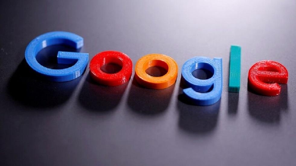 خلل في عمل Google