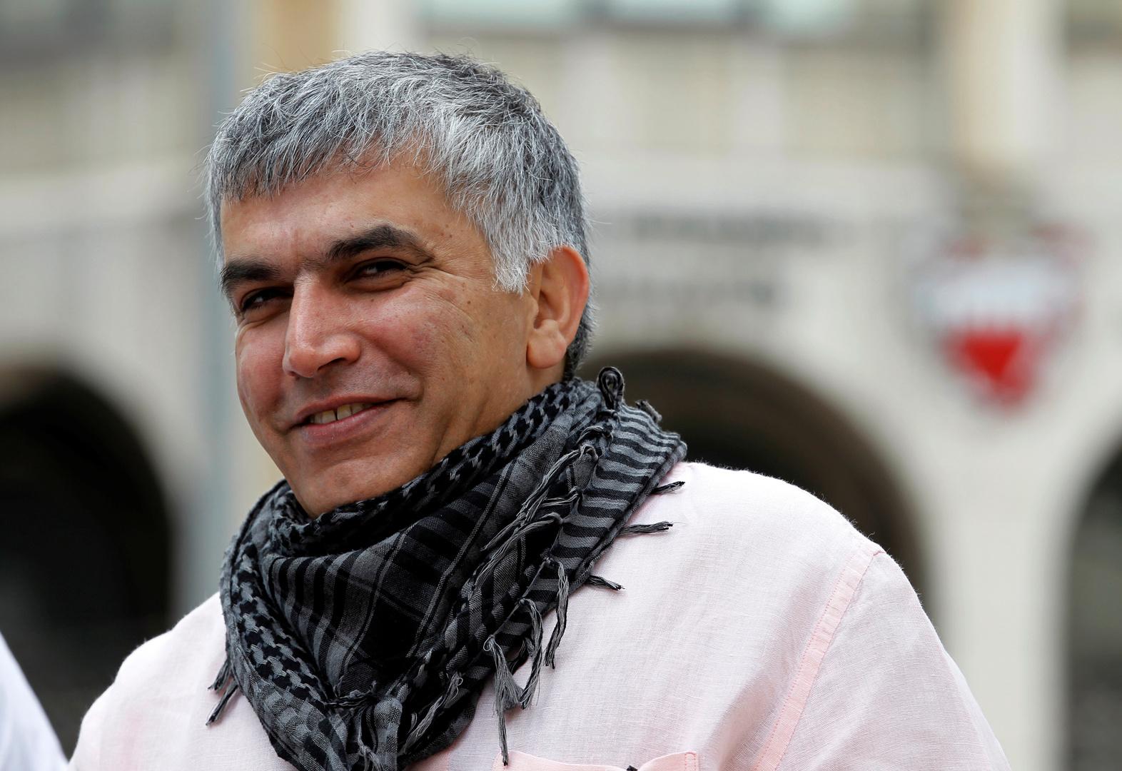 البحرين تفرج عن الناشط الحقوقي المعارض نبيل رجب