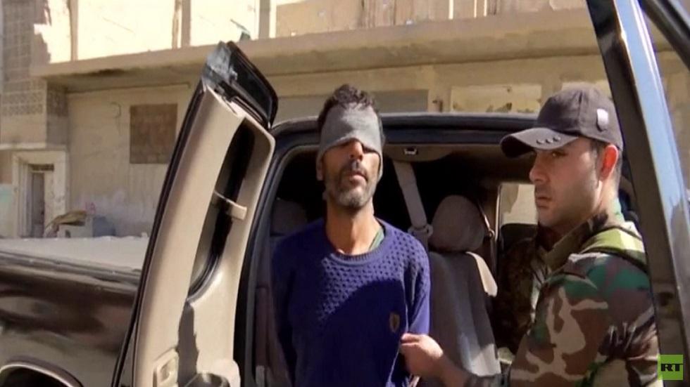 دمشق تعلن القبض على جاسوس في تدمر