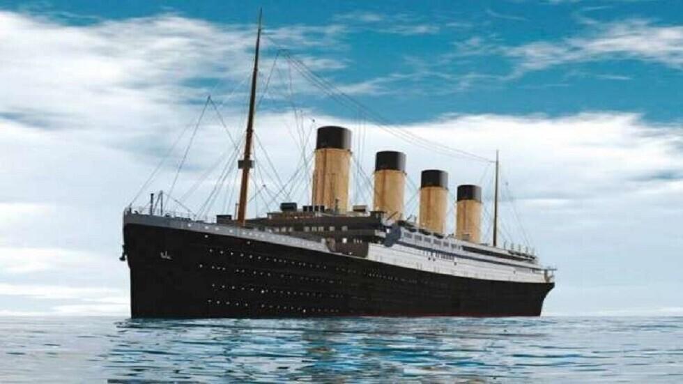 صورة تعبيرية لسفينة تايتانيك