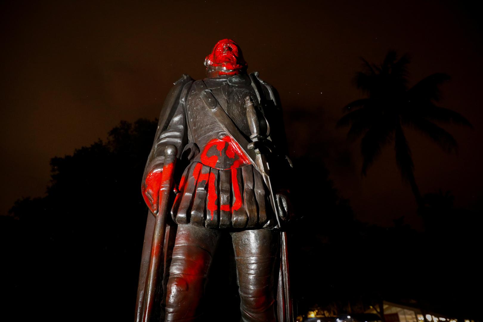 لماذا أعلن المحتجون الأمريكيون حربا على كريستوفر كولومبوس؟