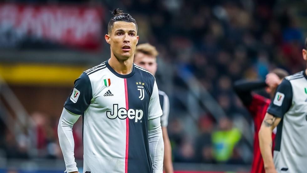 شاهد.. رونالدو يهدر ضربة جزاء في كأس إيطاليا