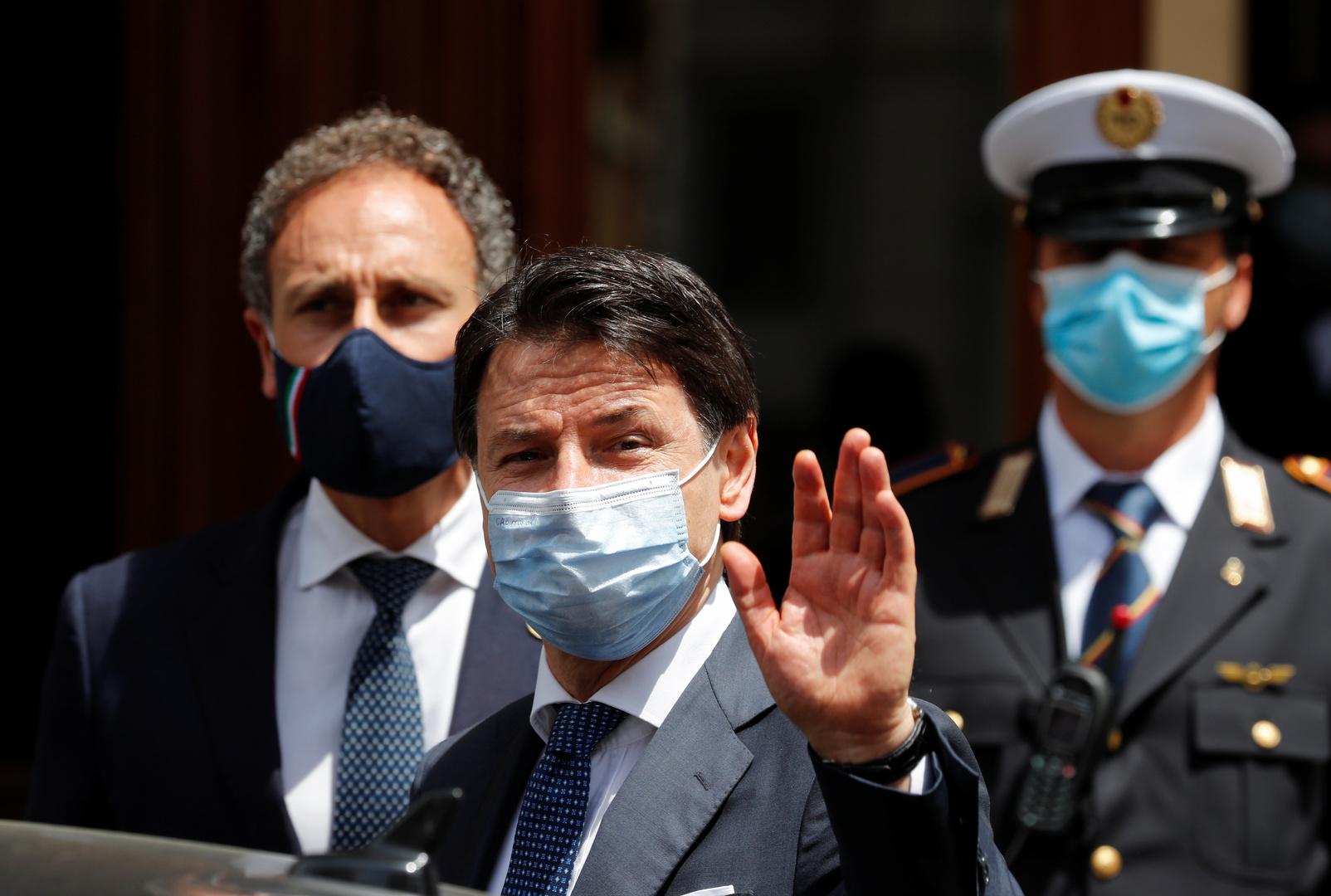 رئيس وزراء إيطاليا: علينا تحويل الجائحة إلى فرصة