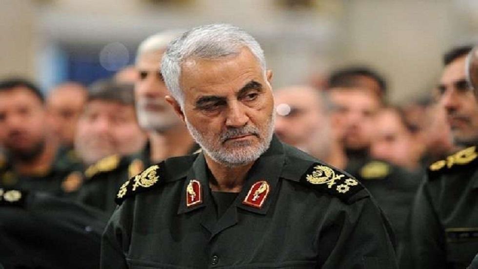 القائد السابق لفيلق القدس التابع للحرس الثوري الإيراني قاسم سليماني